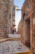 Jaffa Photos - Old Alley In Mid-Eastern City by Noam Armonn