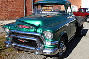 American Automobiles Metal Prints - Old American GMC Truck . 7D10665 Metal Print by Wingsdomain Art and Photography