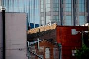 Nashville Architecture Prints - Old and new close together Print by Susanne Van Hulst