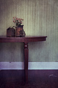 Furniture Prints - Old And Rusty Print by Priska Wettstein