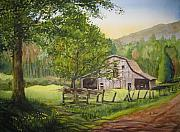 North Carolina Originals - Old Apple Tree by Shirley Braithwaite Hunt