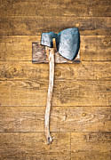 Heavy Metal  Photos - Old axe by Tom Gowanlock