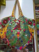 Ethnic Tapestries - Textiles - Old Bag by Dinesh Rathi