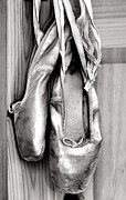 Tie Posters - Old ballet shoes Poster by Jane Rix