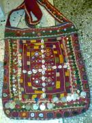 Coins Tapestries - Textiles - Old Banjara Bags by Dinesh Rathi