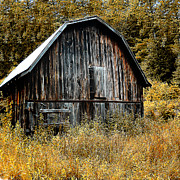 Barn Digital Art Originals - Old Barn by Gordon Engebretson