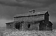 Sandra Longstreet - Old Barn II BW