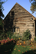 Ellicott Prints - Old Barn In Ellicott City, Maryland Print by Gina Martin