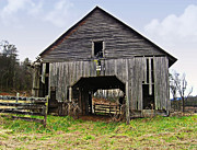 Susan Leggett Prints - Old Barn Print by Susan Leggett