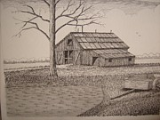 Old Barns Mixed Media - Old Barn2 by William Deering