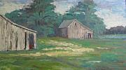 Sharon Franke - Old Barns