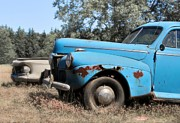 Ford Sedan Photos - Old Blue by Odd Jeppesen