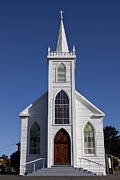 Roads Photos - Old Bodega Church by Garry Gay