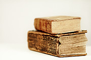 Old Objects Photos - Old Books by Photo by Patric Ivan
