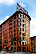 History Channel Metal Prints - Old Boston Wharf Company  Metal Print by Michelle Wiarda