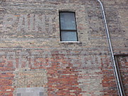 Dated Originals - Old Brick Building Architecture by Brian  Maloney