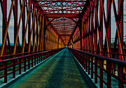 Iron Bridge Prints - Old Bridge Print by Filomena Francisco