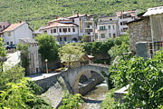 Mostar Photos - Old Bridge by Irina Zelichenko