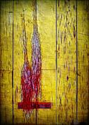 Old Brooms Print by Judi Bagwell