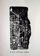 Schiele Originals - Old Bucharest by Maia Oprea