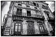 Sicily Photo Prints - Old Building in Sicily Print by Madeline Ellis