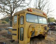 Kerrville Prints - Old Bus Print by Karen Musick