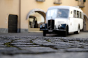 Antic Car Prints - Old buss Print by Mats Silvan