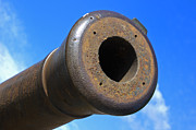 Artillery Metal Prints - Old cannon Metal Print by Matthias Hauser