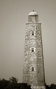 Scenic Tours Framed Prints - Old Cape Henry Lighthouse Framed Print by Skip Willits