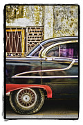 Wheel Pyrography Framed Prints - Old Car 2 Framed Print by Mauro Celotti