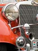 Bmw Racing Car Photos - Old car detail by Odon Czintos