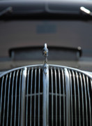 Jouko Mikkola Metal Prints - Old car grill Metal Print by Jouko Mikkola