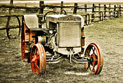 Marilyn Hunt - Old Case Tractor 2