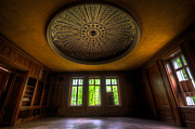 Haunted House Photo Prints - Old casino room Print by Nathan Wright