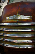 Old Chevrolet Front Grille Print by ELITE IMAGE photography By Chad McDermott