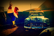The Mother Photo Prints - Old Chevrolet on Route 66 Print by Susanne Van Hulst