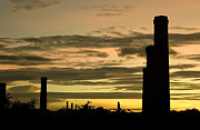 Chimneys Originals - Old Chimneys by Ordi Calder