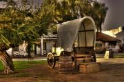 Old Town San Diego Photos - Old Chuck wagon by Frank Garciarubio
