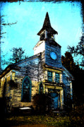 Hippie Prints - Old Church at Oxford Maryland Print by Bill Cannon