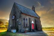 Church Art - Old Church by Charuhas Images