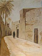 Old Iraqi City Paintings - Old City 3 by Yahya Batat