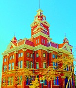 Architectural Landmarks Prints - Old City Hall Bellingham Print by Randall Weidner