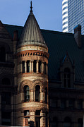 Hall Acrylic Prints - Old City Hall Turret Acrylic Print by Matt  Trimble