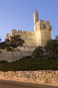 Tourists Attraction Photo Prints - Old City, Tower Of David Museum Print by Richard Nowitz