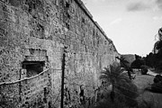 Ammochostos Prints - Old City Walls Famagusta Turkish Republic Of Northern Cyprus Trnc Print by Joe Fox