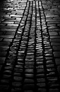 Polish City Posters - Old Cobblestone Entrance To Arcaded Courtyard Wawel Castle Poster by Joe Fox