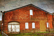 Dated Photo Prints - Old Coca Cola Building Print by Paul Ward