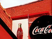 Coca-cola Signs Mixed Media - Old Coke by Michelle Frizzell-Thompson