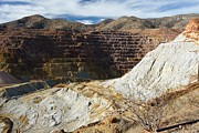 Us Open Framed Prints - Old Copper Mine At Bisbee Framed Print by Bob Gibbons