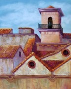 Roofs Pastels - Old Cordoba by Candy Mayer